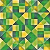 Rooster Naadloos Geometrisch Patroon Royalty-vrije Stock Afbeeldingen