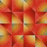 Rooster Naadloos Onregelmatig Geometrisch Patroon Royalty-vrije Stock Fotografie