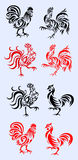 Rooster ornament Royalty Free Stock Images