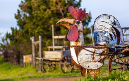 Rooster Sculpture Stock Photography