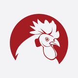Rooster symbol. Illustrator design .eps 10 Stock Illustration