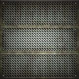 rooster Textuur van metaalplaat royalty-vrije stock foto's