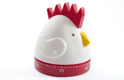 Rooster timer Royalty Free Stock Photos