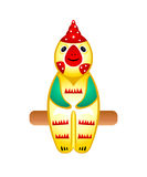 Rooster toy Stock Image
