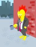 rooster unemployed Στοκ φωτογραφίες με δικαίωμα ελεύθερης χρήσης