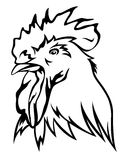 Rooster vector Stock Image