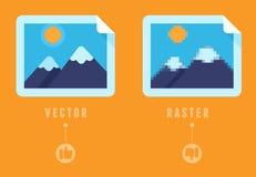 Rooster versus concept stock illustratie