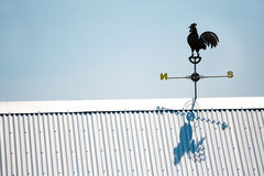 Rooster Weather Vane Royalty Free Stock Photos