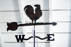 Rooster weather vane Stock Photos