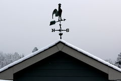 Rooster Weathervane Stock Photography