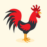 Rooster year icon. This is rooster year icon design. Vector file Royalty Free Stock Photos