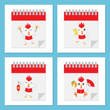 Rooster year icon. This is Rooster year icon design. Vector file Royalty Free Stock Photography