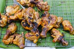 Roosterende kip Stock Foto's