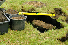 Root barrier Royalty Free Stock Images