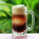 Root beer float Royalty Free Stock Image