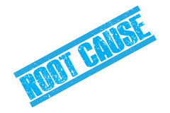 Root Cause stamp Royalty Free Stock Photography