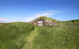 Root Cellar of Elliston, Newfoundland, Canada Stock Images