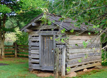 A root celler built by early settlers in virginia Royalty Free Stock Image