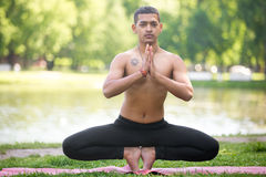 Root Chakra Pose variation Stock Photos