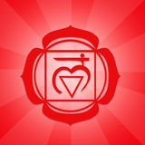 Root Chakra symbol Royalty Free Stock Photo