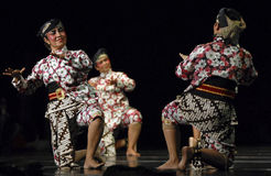 ROOT OF INDONESIAN DANCE Stock Photos
