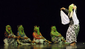 ROOT OF INDONESIAN DANCE Royalty Free Stock Image