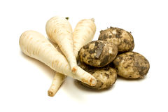 Root veg Stock Photography