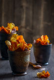 Root Vegetable Crisps Stock Image