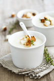 Root vegetables soup Royalty Free Stock Images