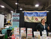 RootsTech 2016. The world`s largest family history and technology annual conference. royalty free stock image