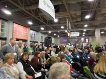 RootsTech 2016. The world`s largest family history and technology annual conference. royalty free stock photo