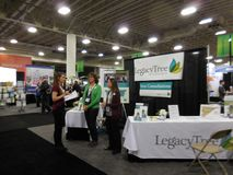 RootsTech 2016. The world`s largest family history and technology annual conference. stock photos