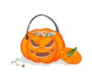 ?rop auf einem Halloween Stockfotos