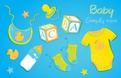 Ropa 1 de los niños Imagen de archivo libre de regalías