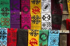 Ropa africana de la moda Fotografía de archivo