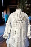 Ropa barroca blanca del estilo en Hampton Court Imágenes de archivo libres de regalías