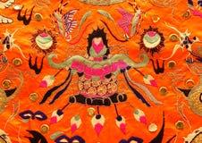 Ropa bordada chino Foto de archivo libre de regalías