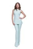 Ropa casual del catálogo del estilo de la moda del encanto para la mujer de negocios Foto de archivo libre de regalías