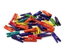 Ropa-clavijas Imagen de archivo libre de regalías