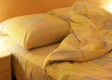 Ropa de la cama Foto de archivo libre de regalías