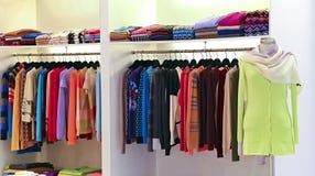 Ropa de la moda de las señoras Imagen de archivo libre de regalías