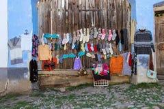Ropa de lana colorida Imagenes de archivo