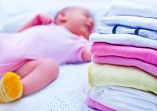 Ropa del bebé Foto de archivo libre de regalías