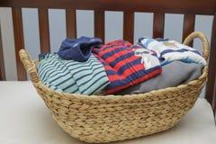 Ropa del bebé fotografía de archivo libre de regalías