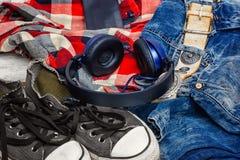 Ropa del estilo para los adolescentes Imagen de archivo libre de regalías