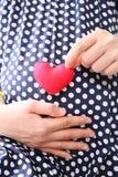 Ropa embarazada de la maternidad de los azules marinos de la ropa de mujer Fotos de archivo