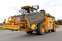 ROPA Euro-maus 4 Cleaning Loader for Sugar Beet stock photography