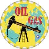 ropa i gaz royalty ilustracja