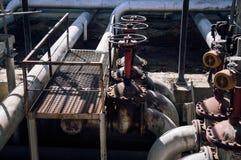 Ropa i gaz drymby linii klapy Zdjęcia Royalty Free
