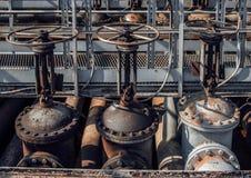 Ropa i gaz drymby linii klapy Obraz Royalty Free